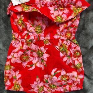 Gap Matching Sets - NWT GAP Girls Floral Romper 3T